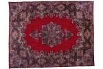 tapis iran rouge